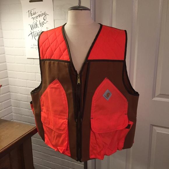 3aae00f38cf4e Carhartt Jackets & Coats | Vu250 Bird Hunting Vest Mens Xxl Like New ...
